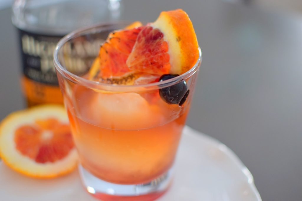 Torched Orange Old Fashioned