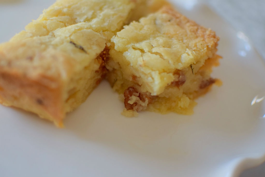 Lemon Rosemary Fig Shortbread Bars - Craving4More